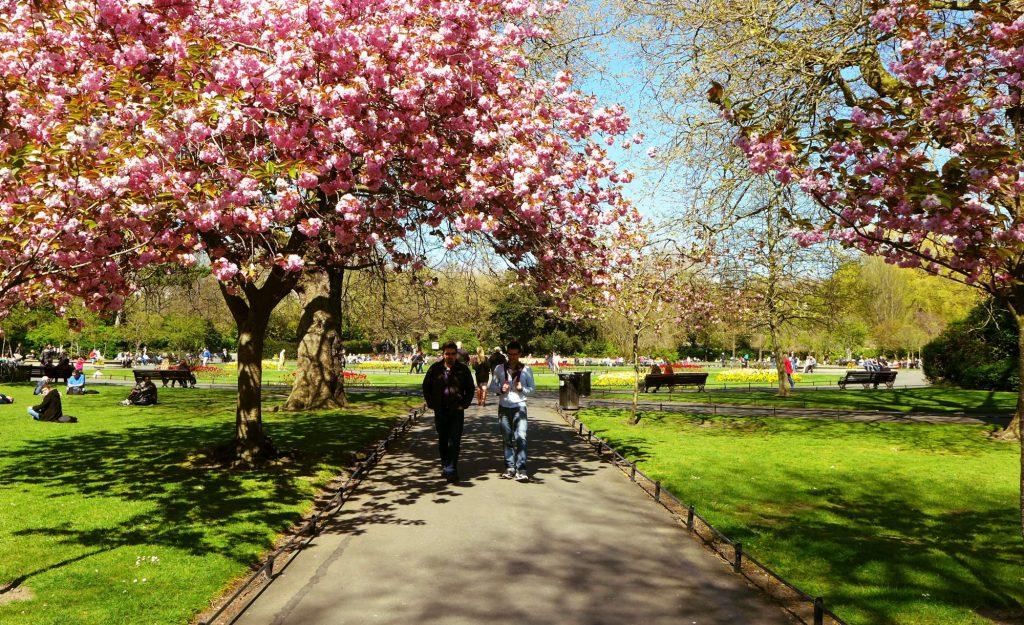 Frühling in Irland, Dublin