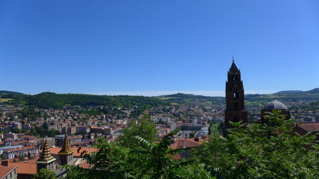 Blick über Le Puy en Velay
