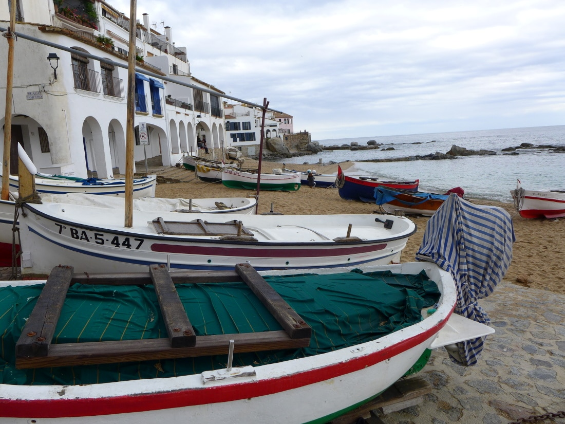 Boote in Palafrugell