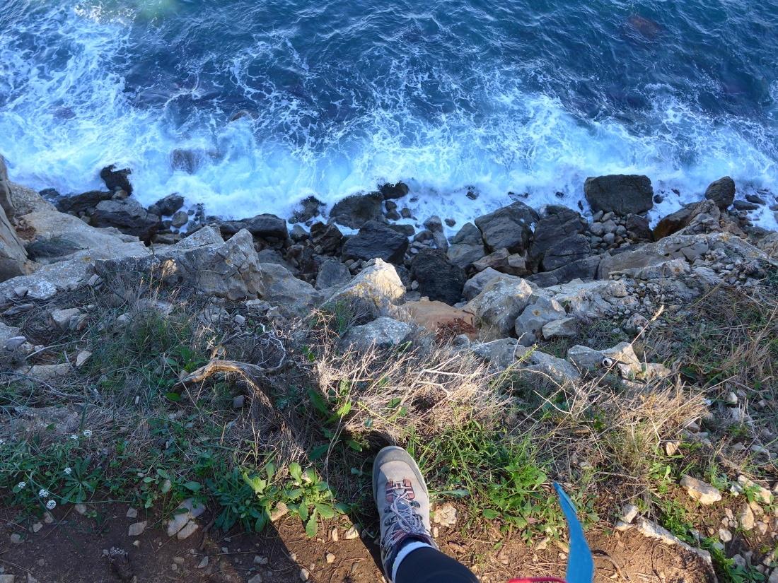 Am Abgrund an der Costa Brava