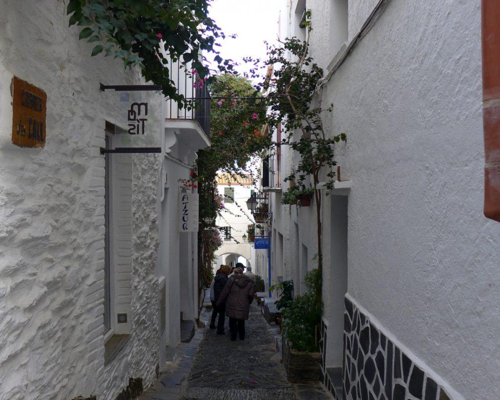 Gasse in Cadaqués