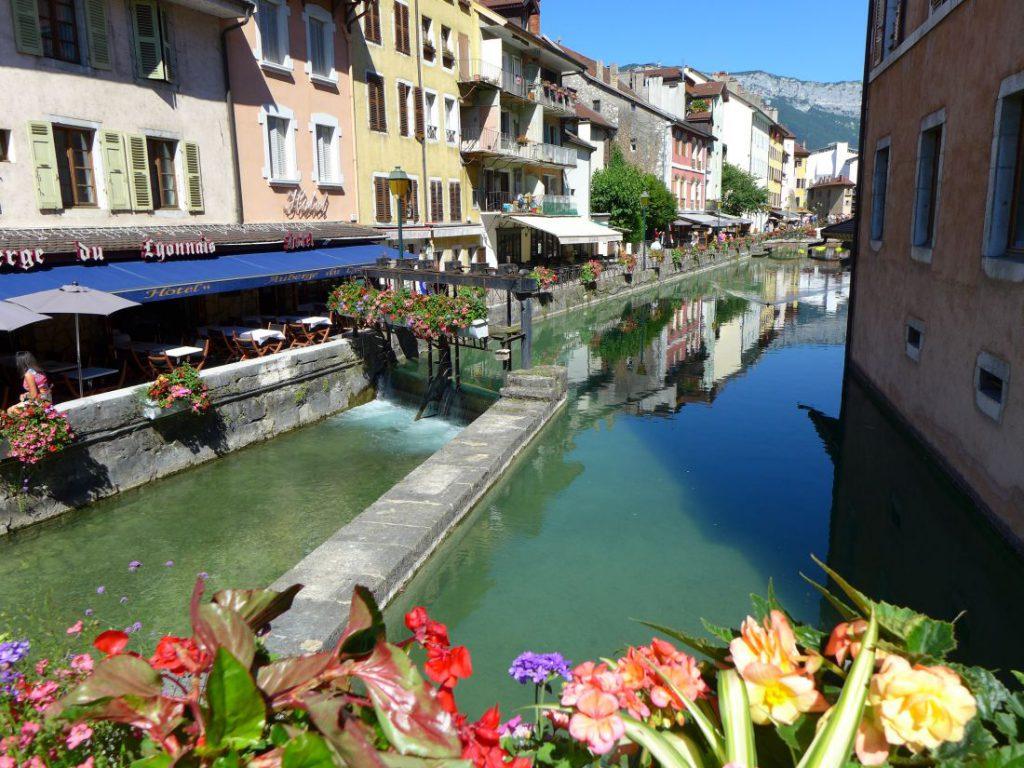 annecy kanal frankreich
