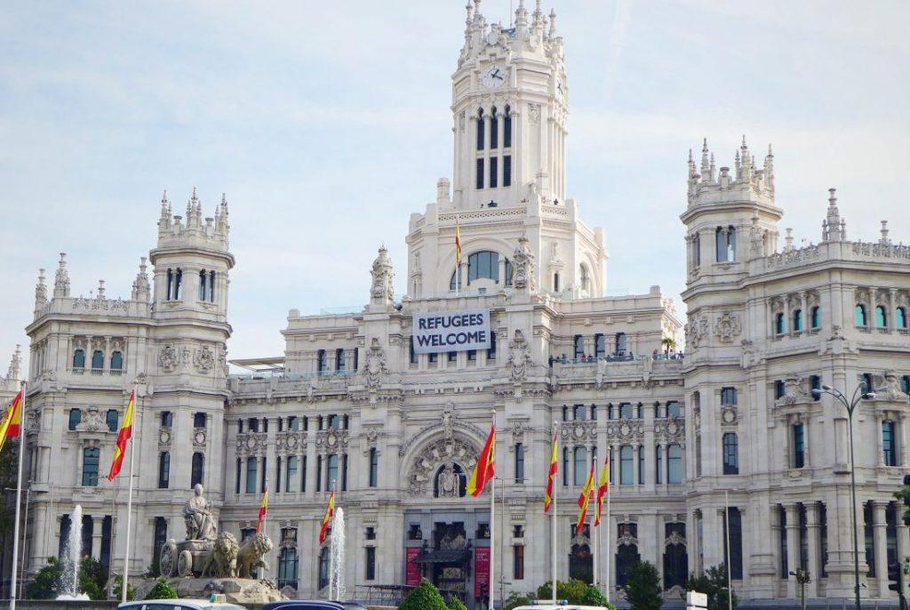 Madrid Tipps Rathaus