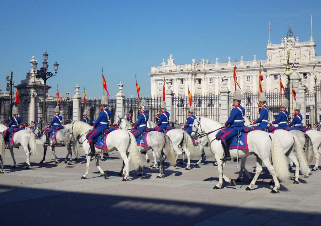 Madrid Tipps Wachwechsel