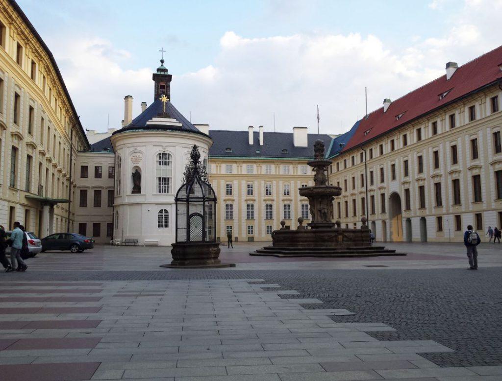 prag Platz Burg