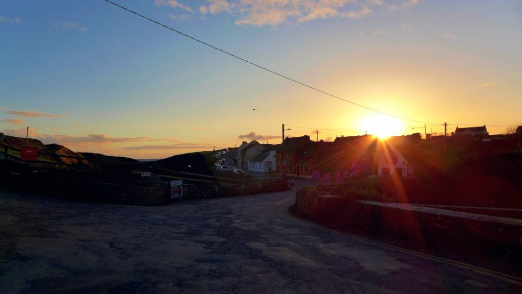 Doolin Irland Sonnenuntergang