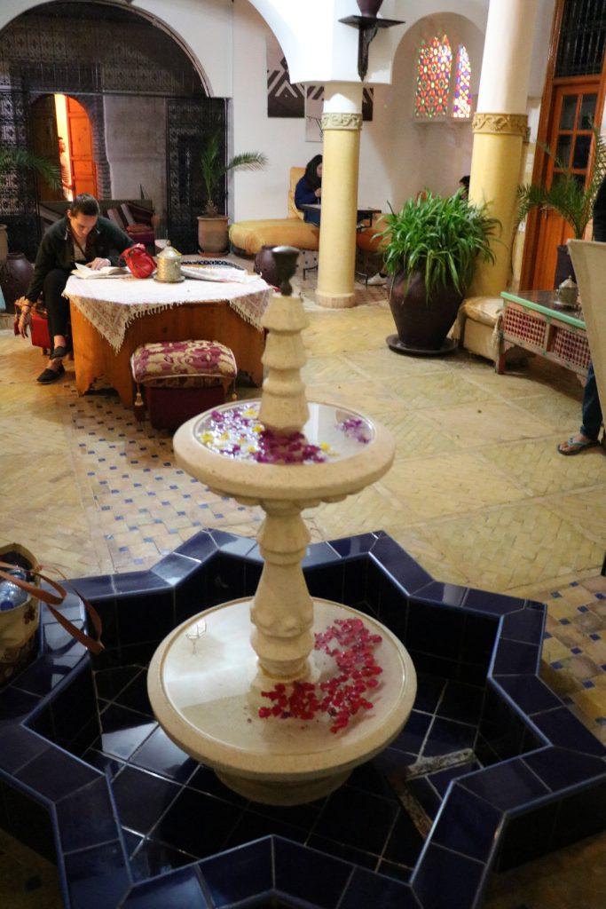 Marokko Merkmale Riad